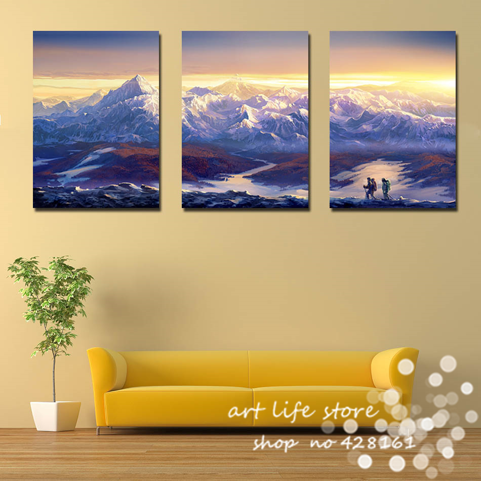 Awesome Mountain Wall Art Inspiration - The Wall Art Decorations ...