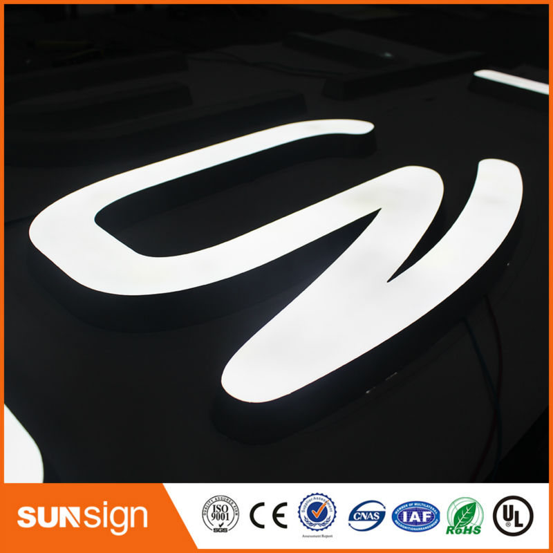 LED Illuminated Outdoor New Signs Advertising Acrylic Letter Signs