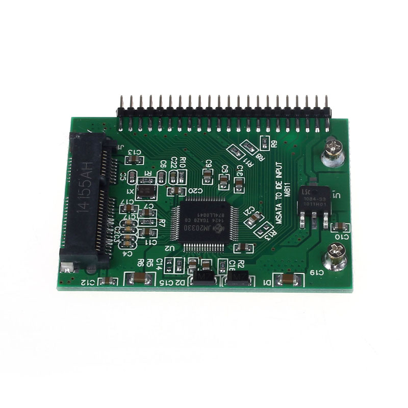 mSATA SSD To 44 Pin IDE Converter Adapter As 2.5 Inch IDE HDD For Laptop Jun23 Professional Factory Price Drop Shipping