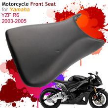 For Yamaha YZF600 YZF-R6 2003-2005 Front Seat Cover Cushion Leather Pillow YZF 600 YZF R6 03 04 05 Motorcycle Rider Driver Seat стоимость