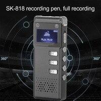 Wiederaufladbare Aufnahme Stift SK-818 Mit 8G Speicher Digital Audio Voice Recorder Diktiergerät Mp3-player Recorder Pen Licht gewicht