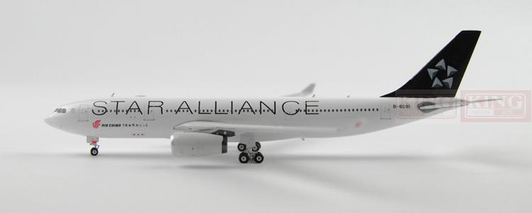 Phoenix 10896 China International Aviation B-6091 A330-200 Star Alliance commercial jetliners plane model hobby phoenix 11006 asian aviation hs xta a330 300 thailand 1 400 commercial jetliners plane model hobby