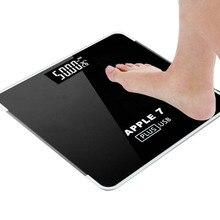 Электронные весы светодиодный цифровой дисплей определение веса пол электронный умный баланс тела бытовые ванные комнаты 180 кг