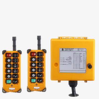F23-BB(include 2 transmitters and 1 receiver)/crane Remote Control /wireless remote control Switch new 2 transmitters