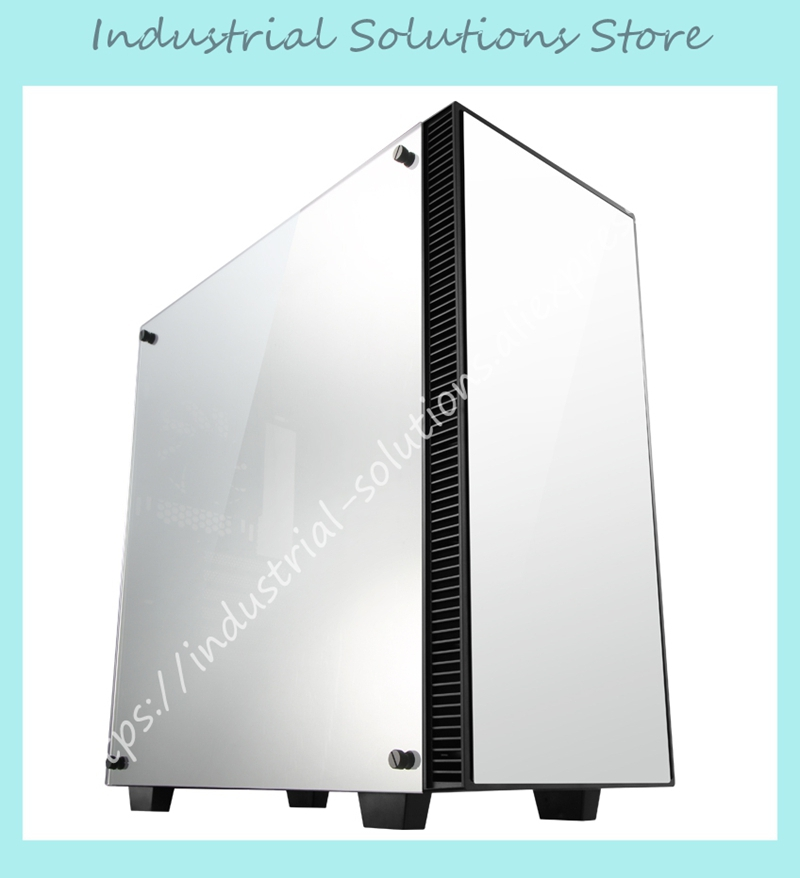 JONSB full tower ATX chassis QT03-M three mirror version found the chassis computer desktop chassis game chassis water cooling large tower chassis