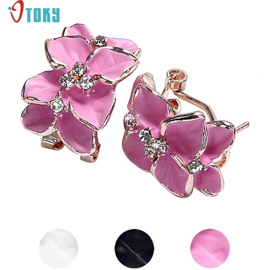 SuperDeals - Stud Earrings OTOKY Gussy Life Luxury Women Floral ...