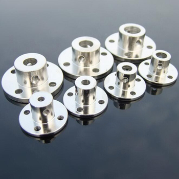 3/3.17/4/5/6/7/8/10/11/12/14mmmm Rigid Flange Coupling Motor Guide Shaft Coupler Motor Connector Shaft Axis Bearing Fittings rigid coupling coupler differet type brass shaft coupling motor axle fittings model diy accessories