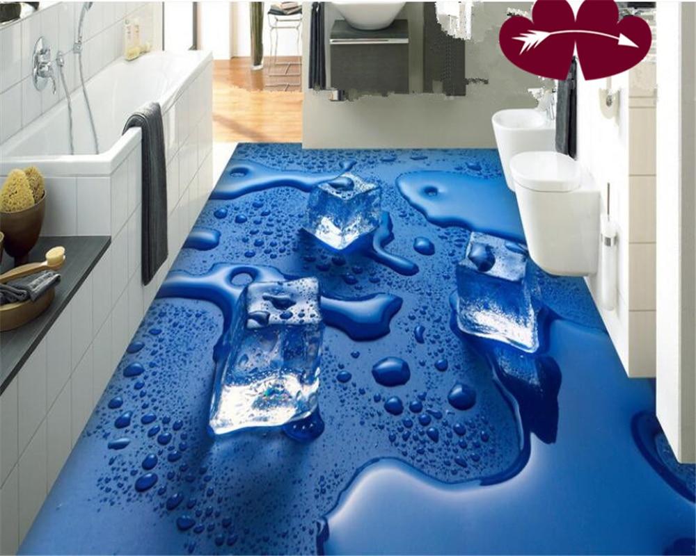 beibehang 3d wallpaper Indoor home decoration ice water droplets 3D ...