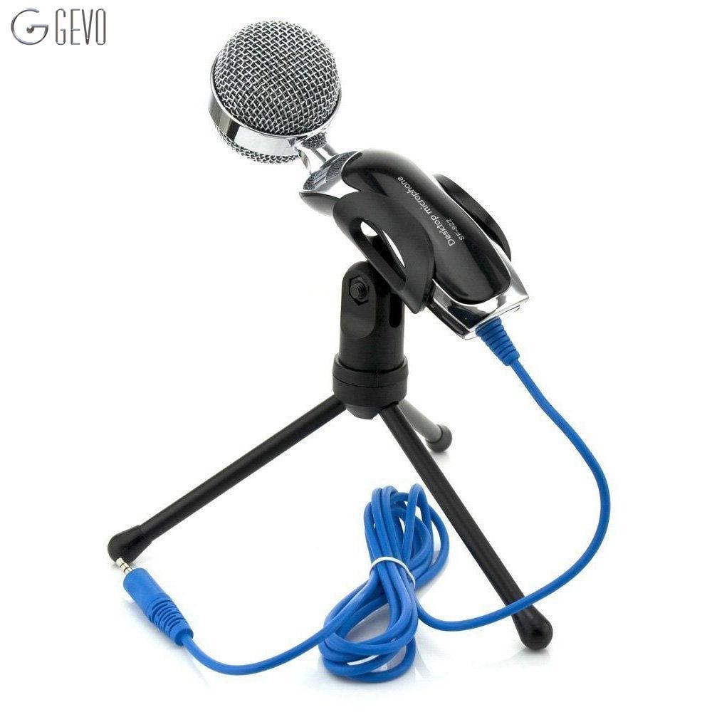 SF-922 Micrófono de Condensador Profesional de 3,5 mm con cable de - Audio y video portátil
