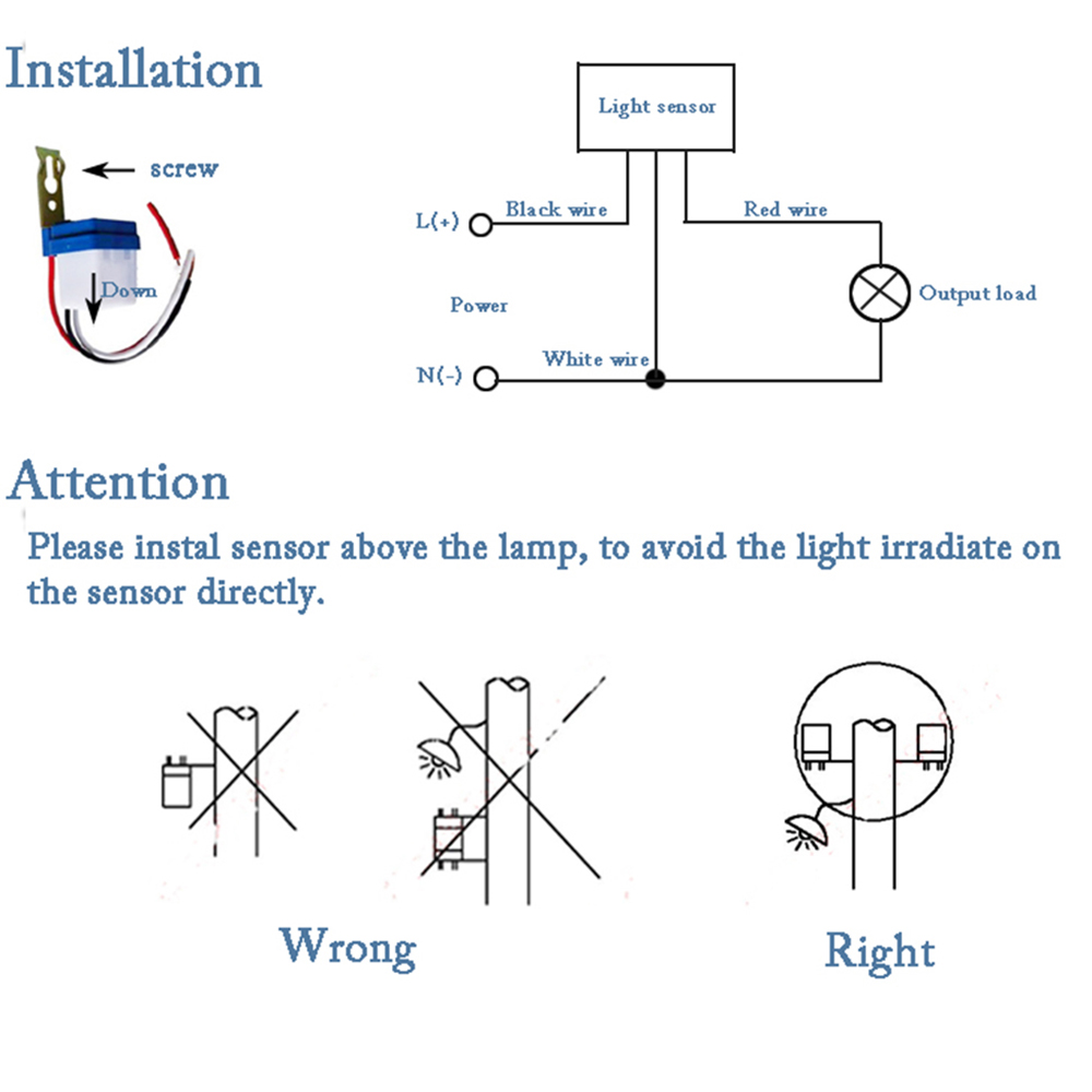 Photocell Switch Wiring Diagram Snap Attractive How To Wire A Photoelectric Sensor Image Collection Awesome With Reflector