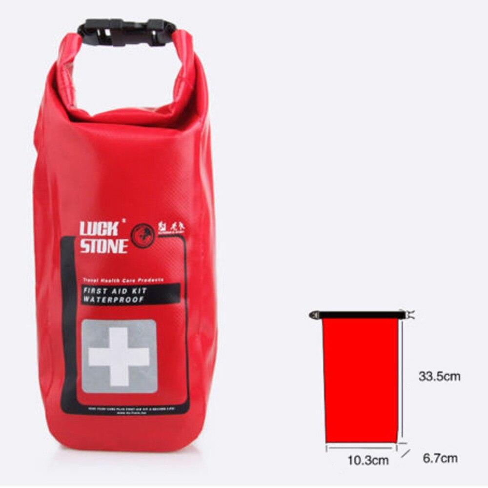 Red Waterproof 2L עזרה ראשונה תיק חירום ערכות - קמפינג וטיולים
