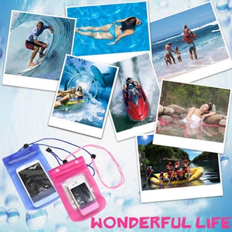 Wasserdichter Telefonkasten, Unterwasserfoto-Tauchbeutel, Packsäcke - Home Storage und Organisation - Foto 6