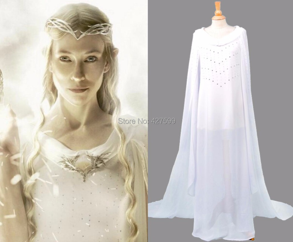 Cheap lord of the rings dress