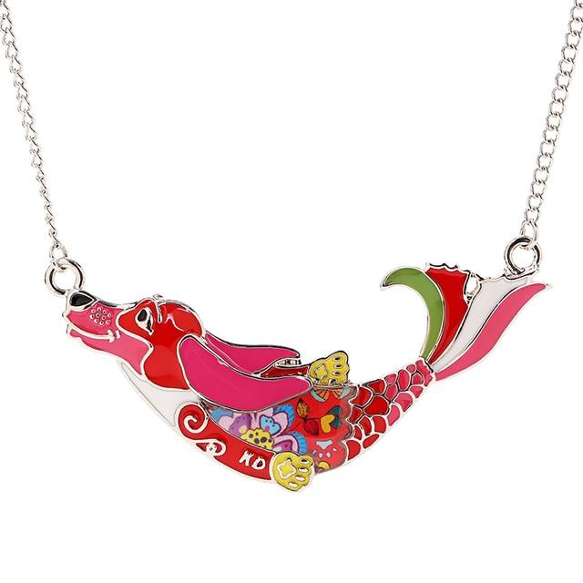 Marte & joven милые Подвески с собаками ожерелье для женщин