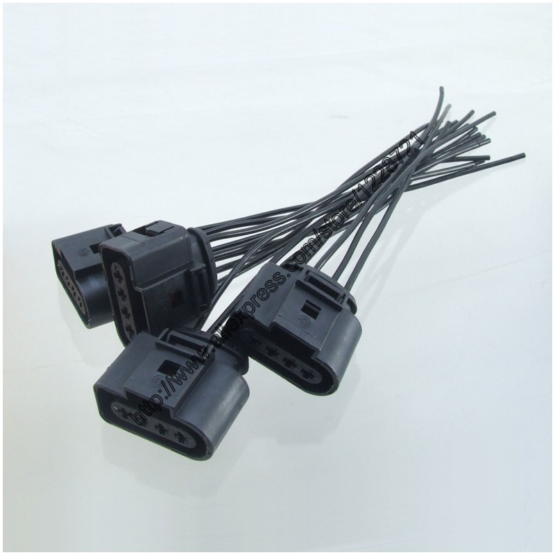 online get cheap automotive vw wire harness aliexpress com Vw Automotive Wire Harness Connectors 4pcs 1j0973724 4pin car repair kit ignition coil automotive wiring harness plug wire for a4 a6 rs4 rs6 a8 vw passat audi Auto Wiring Plug Connectors
