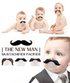 Moda Engraçado Manequins Manequim Chupeta Novidade Dentes Chupeta Bigode Beard Mamilos Chupeta Babys Criança Caçoa o Presente Seguro