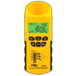 Cyfrowy miernik wysokości kabla ultradźwiękowego 3 m ~ 23 m porządkowy środek dolnej 6 kabli wysokość AR600E inteligentny czujnik