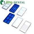 60 PCS instrumentos Odontológicos bandejas de seis tipos de formas pode ser comprado separadamente Pode ser pasteurizado SL-CS1144