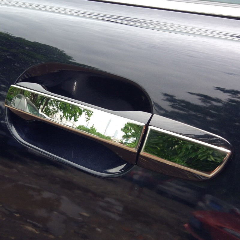 Stainless Steel Outside Door Handle Decorative Sequin For Volvo XC90 2012-14 Car Doorknob Cover & Compare Prices on Volvo Door Handle- Online Shopping/Buy Low Price ... Pezcame.Com