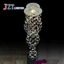 ZYY Best price Modern Creative LED Crystal Lamp K9 Crystal Ceiling Light Dining Room Living Hallway Crystal Light Free Shipping(China)