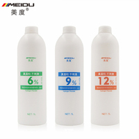 1000ml Professional Natural Hair Peroxide Gream Dioxygen Milk for Hair Dye Coloring Bleach and Waxing Bleaching Powder 6 9 12%