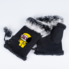 BTS BT21 Faux Fur Gloves (16 Models)