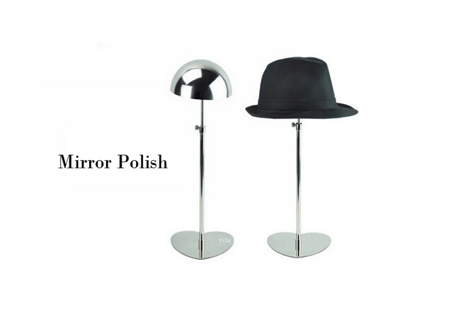 ФОТО Mirror silvery boutique Hat display showing stand hat holder display rack cap keeper shelf rack stand hat holder rack