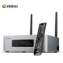 ZIDOO X10 Smart TV Box Quad Core 2G / 16G Двухдиапазонный WIFI SATA 3.0 Медиа плеер 10 бит HDMI 2.0 HDR Телеприставки Android 6.0 4K
