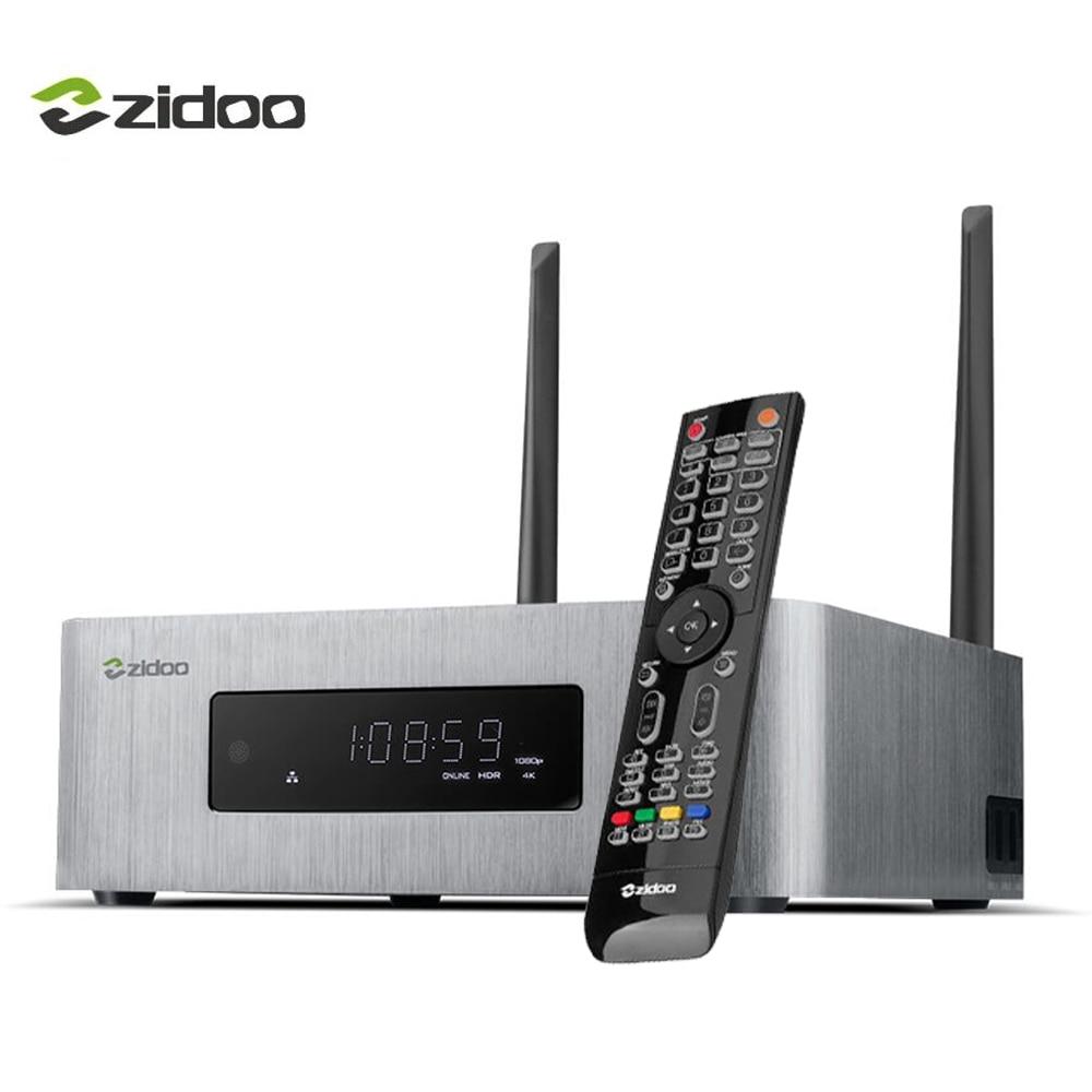 ZIDOO X10 Smart TV Box Quad Core 2g/16g Double Bande WIFI SATA 3.0 Media Player 10Bit HDMI 2.0 HDR Set top Box Android 6.0 4 k tvbox