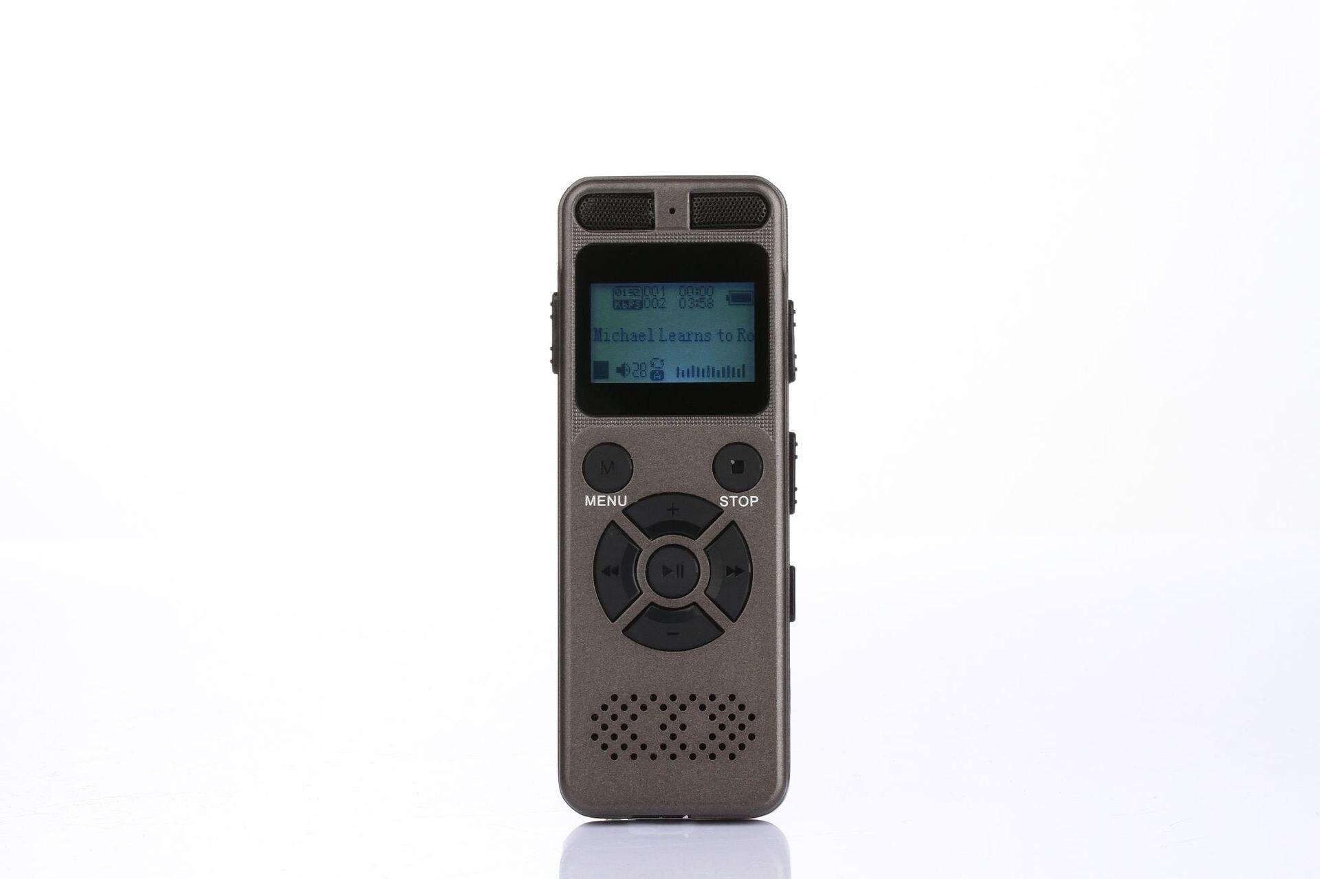 8 GB 16 GB 32 GB professionnel réduction du bruit enregistreur vocal numérique intelligent enregistrement HD à distance WAV MP3 enregistreur Audio son HIFI - 2