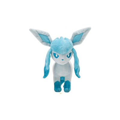 Anime Pet Soft Plush Toys Stuffed Animal font b Doll b font Standing Glaceon
