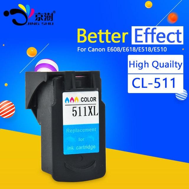 1pcs Tri Color CL511 Ink Cartridge 511 For Canon CL XL MP240 MP250