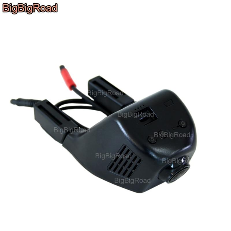 все цены на BigBigRoad For Volkswagen Multivan t5 Scirocco Cross Lavida Car Dash Cam Wifi DVR Dual Cameras Car Black Box Video Recorder