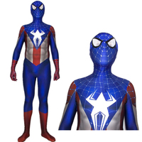 Captain America Spider Man Spiderman Cosplay Costume Zentai Superhero Bodysuit Suit Jumpsuits