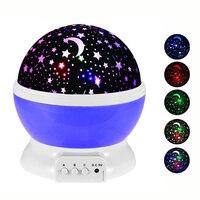Новинка светящиеся игрушки романтическое светодио дный звездное небо Светодиодный Ночник проектор батарея USB ночник креативные игрушки на...