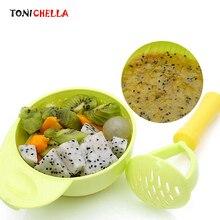 Ручная шлифовка для кормления детей; инструменты для приготовления фруктов; Детские Обучающие блюда; шлифовальная миска для кормления; детская посуда; T0373