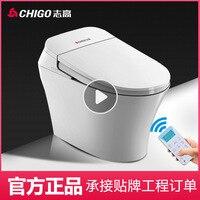 Прямая продажа с фабрики Чжигао Туалет E1 сифон цельный керамические насосных смарт Туалет