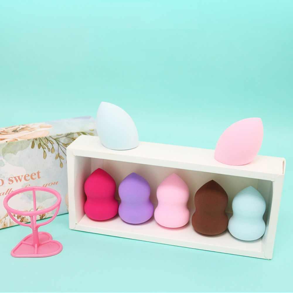 Beauty Soft Makeup Sponge Puff Face Nose Facial Foundation Base Liquid Powder Blending Drop Shape Cosmetic Tool