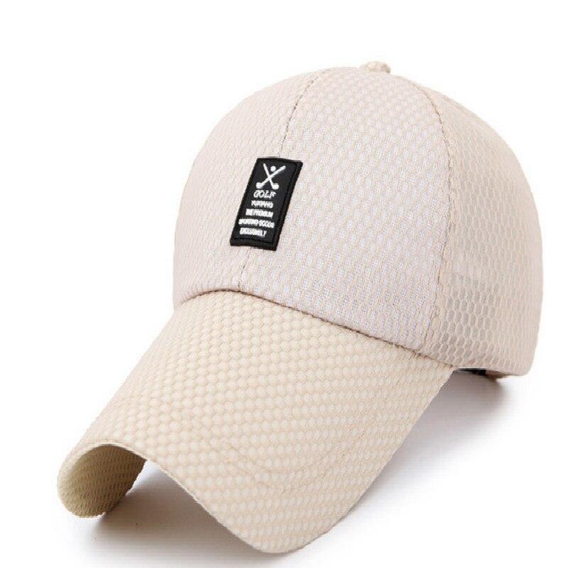 bca9d7f4220 Which in shower Breathable Mesh Summer Baseball Cap Unisex Blank Sports  Outdoor Snapback Fishing Hat Trucker Bone Women Men