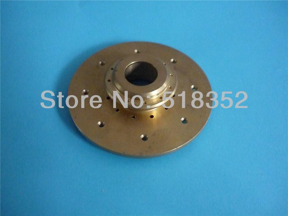 ФОТО X187B370H03 Mitsubishi Water Nozzle Holder in Brass For Mitsubishi WEDM-LS Machine DWC-FX-K,QA,RA,FA