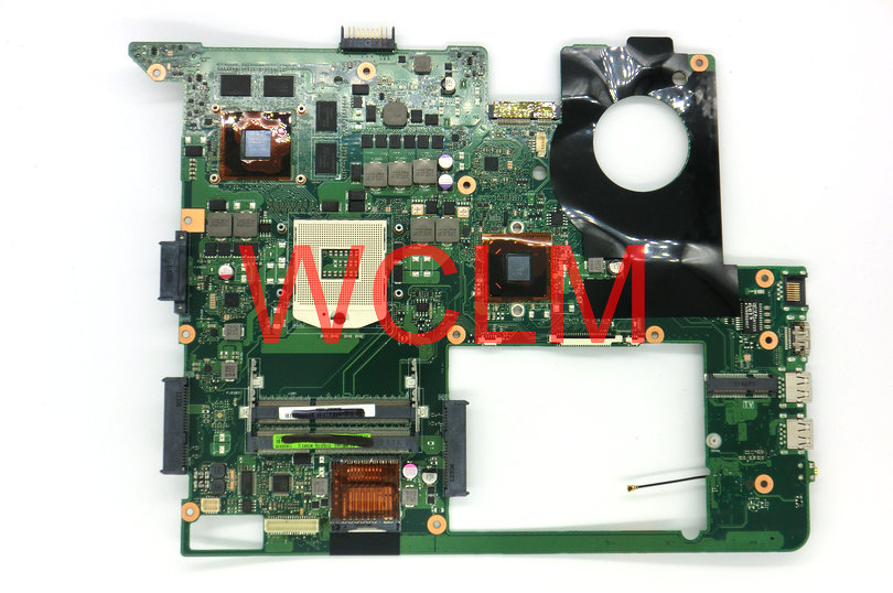 free shipping NEW brand original N76VZ N76V laptop motherboard MAIN BOARD GT650M 2G graphics card N13P-GT-A2 100% Tested free shipping new original g55vw motherboard main board mainboard gt660m video card n13p ge a2 100% tested