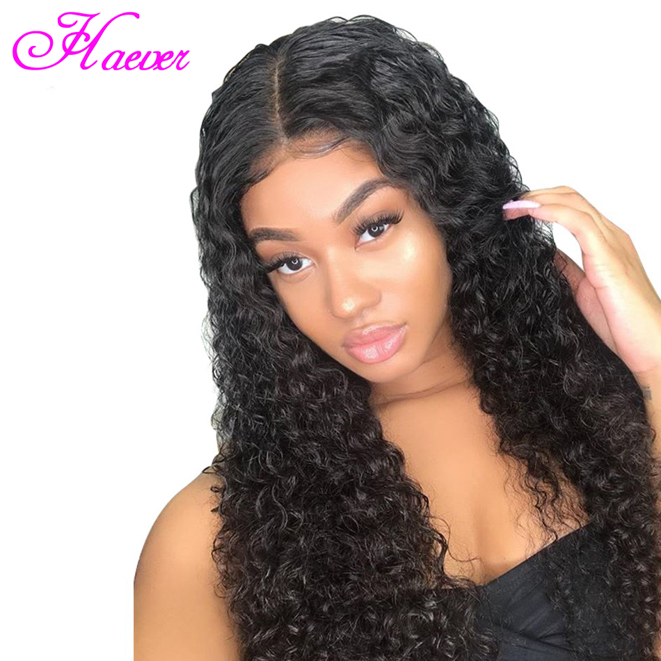 Lace Frontal Human Hair Wigs Peruvian Hair Wigs Loose Deep Wave Hair Wigs Pre Plucked Lace Front Wigs With Baby Hair(China)