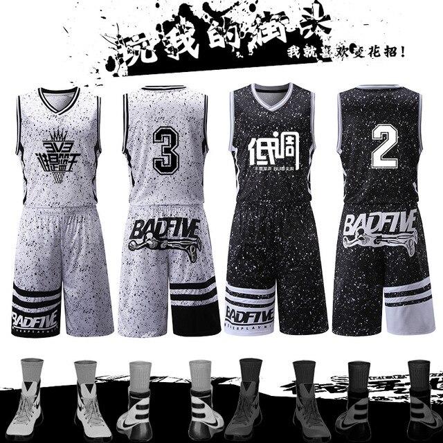 2017 Usa Basketball Jersey Sets Uniforms Kits Sports Clothing Breathable  Custom College TEAM Basketball Throwback Jerseys Shorts 0d4ce4b09517