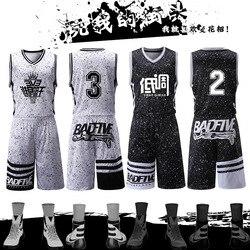 2017 Usa Basketball Jersey Sets Uniforms Kits Sports Clothing Breathable Custom College TEAM Basketball Throwback Jerseys Shorts