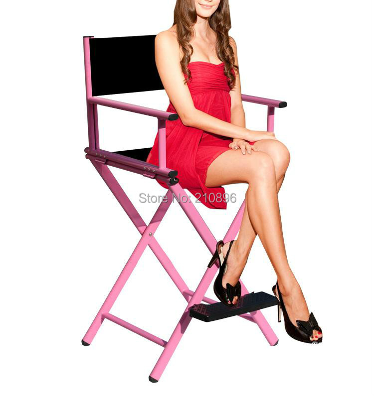Portable directors chair hairdressing salon furniture for Hairdressing chairs
