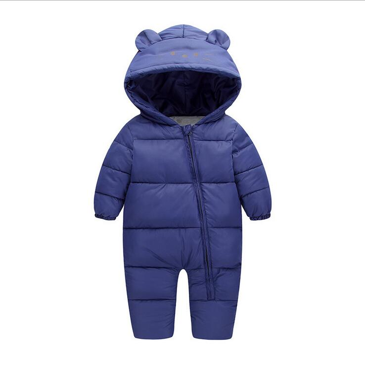 baby girl clothes Boy Newborn Clothes Costume Thick Warm Infant Baby Rompers Kids Winter clothes Jumpsuit Hooded baby clothing unisex baby rompers newborn baby clothes boy girls winter jumpsuit hooded toddler outerwear christmas clothing deer costume