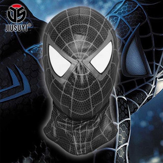 the amazing spider man black spider balaclava venom cosplay costume