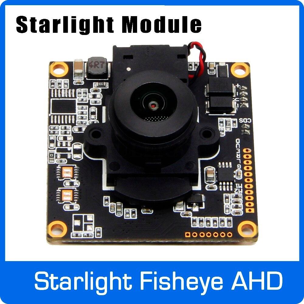 Starlight 1080 p AHD Fotocamera Panorama Bordo del Modulo Horizon 170 gradi con Fisheye Lens utilizzare SONY IMX291 del Sensore Libera Il Trasporto