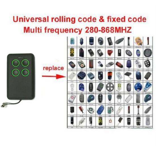где купить 3pcs Multi frequency copy 280-868mhz auto scan frequency Universal remote control duplicator face to face copy по лучшей цене