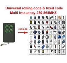 3 pcs Multi cópia freqüência 280-868 mhz auto scan freqüência Universal controle remoto duplicator face to face copiar